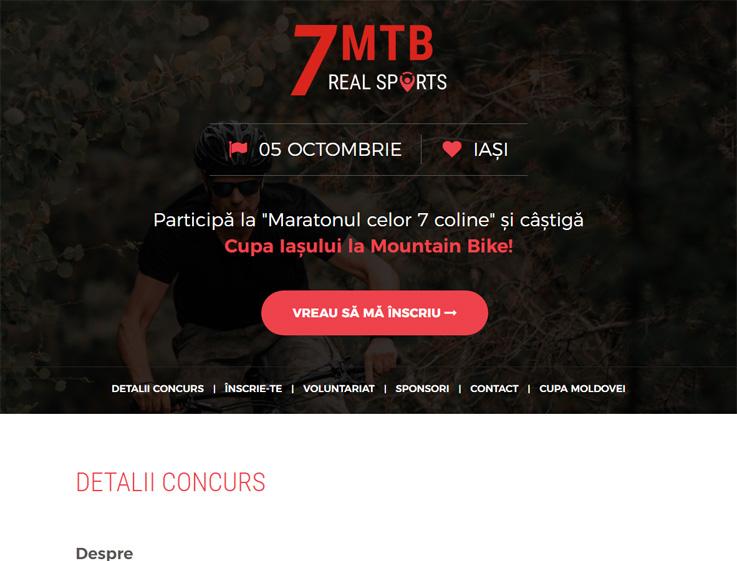 7 MTB Real Sports - Cupa Iașului la Mountain Bike