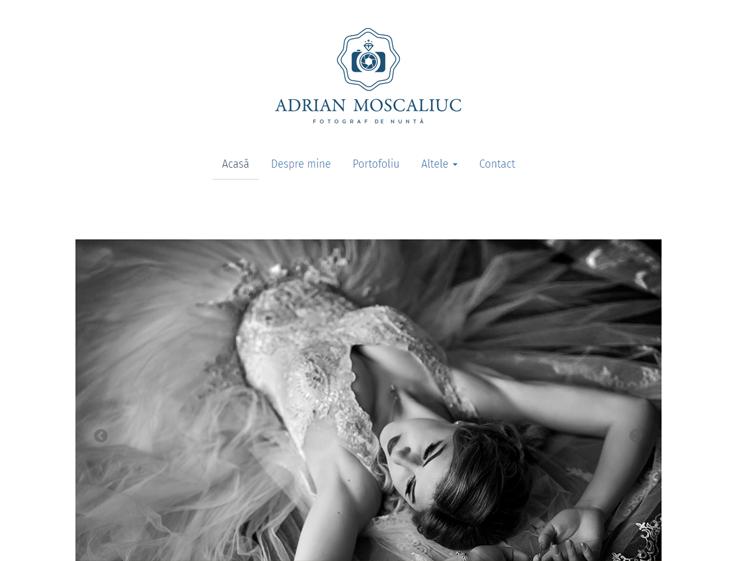 Adrian Moscaliuc - Fotograf de nuntă