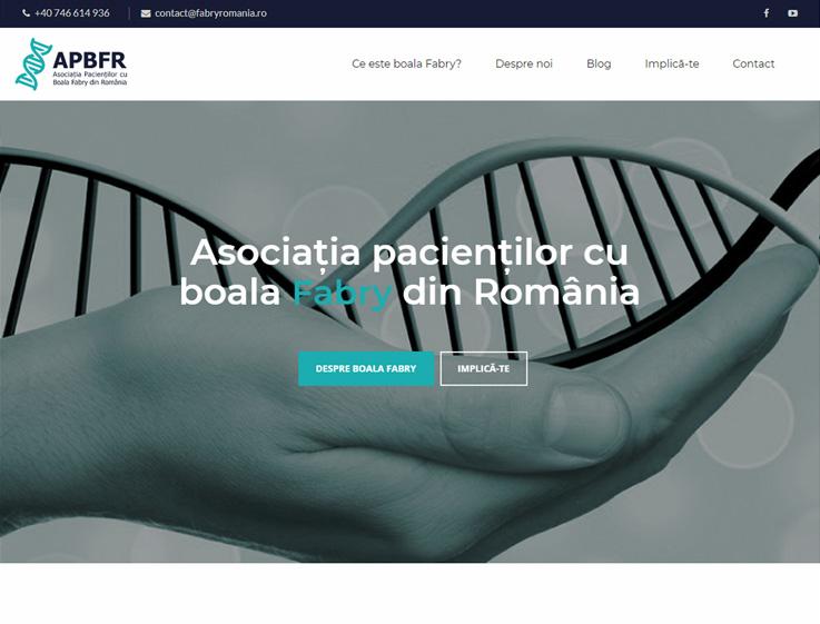Asociația Pacienților cu Boala Fabry din România (APBFR)