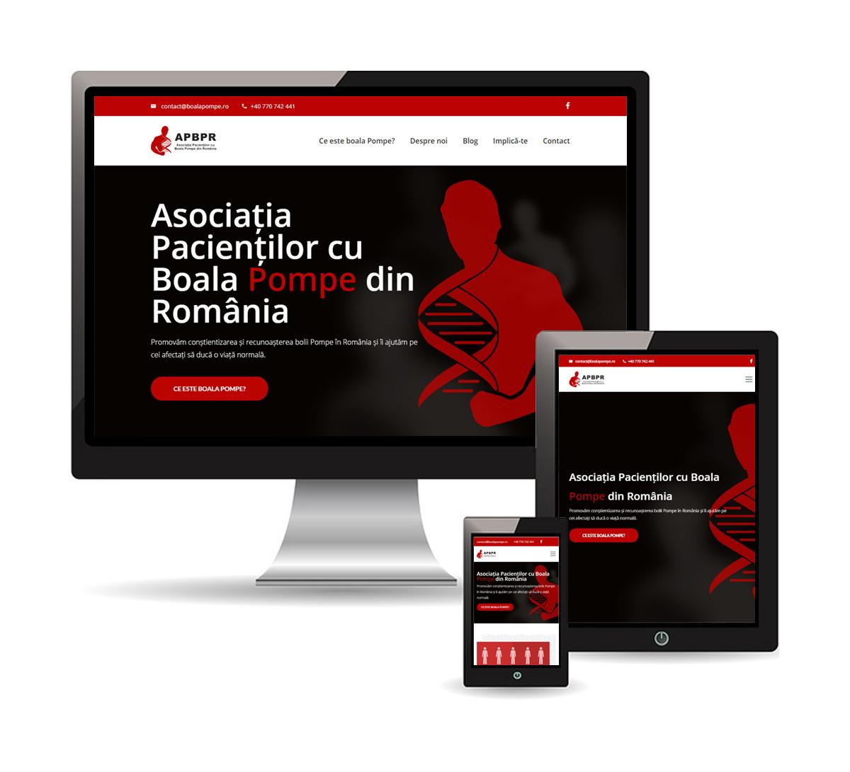 Asociația Pacienților cu Boala Pompe din România (APBPR)