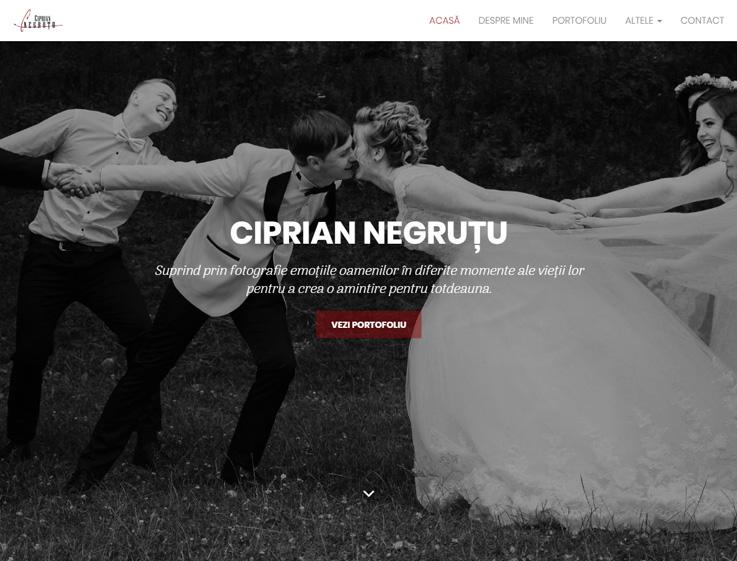 Ciprian Negruțu Fotograf de nuntă
